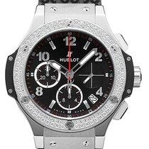 Hublot Big Bang 41 mm neu 2021 Automatik Chronograph Uhr mit Original-Box und Original-Papieren 341.SX.130.RX.114