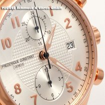 Frederique Constant Runabout Chronograph Gold/Steel 42mm Silver