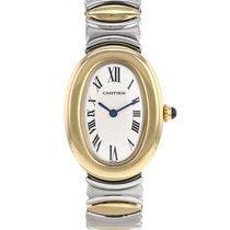 Cartier Baignoire Żółte złoto Szampański Rzymskie