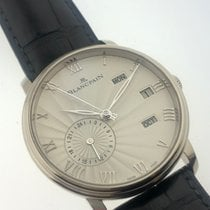 Blancpain White gold Automatic 40mm pre-owned Villeret