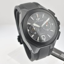 Girard Perregaux Chrono Hawk new Automatic Chronograph Watch with original box and original papers 49970-32-631-FK6A