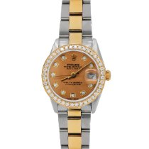 Rolex Lady-Datejust pre-owned 26mm Champagne Date Gold/Steel