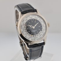 Patek Philippe World Time Hvidguld 38.5mm Grå Arabertal
