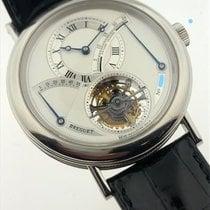 Breguet Platinum Manual winding Silver Roman numerals 39mm pre-owned Classique Complications
