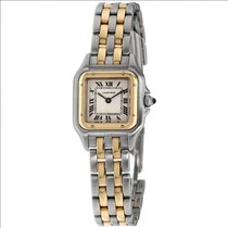 Cartier Panthère Gold/Steel 23mm Silver Roman numerals United States of America, New York, Greenvale