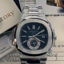 Patek Philippe Nautilus новые 2008 Автоподзавод Хронограф Часы с оригинальными документами и коробкой 5980
