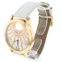 Chopard Happy Diamonds Or rose 40mm Nacre Arabes