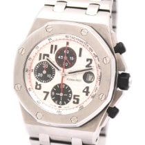 Audemars Piguet Royal Oak Offshore Chronograph Otel 42mm Alb