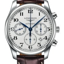 Longines L2.859.4.78.3 Steel 2020 Master Collection 44mm new