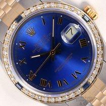 勞力士 Datejust II 鋼 36mm 藍色