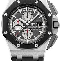 愛彼 Royal Oak Offshore Chronograph 鈦 44mm 灰色 無數字 香港, Tsim Sha Tsui