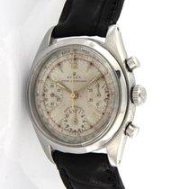 Rolex Chronograph Steel 36mm White No numerals