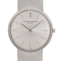 Vacheron Constantin White gold Manual winding Silver pre-owned