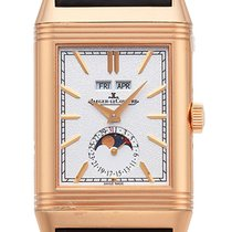 Jaeger-LeCoultre Red gold Manual winding Silver Arabic numerals 49,7mm new Reverso (submodel)