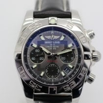 Breitling Chronomat 41 Сталь 41mm Черный