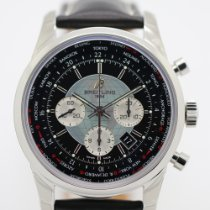 Breitling Transocean Chronograph Unitime new 2015 Automatic Watch with original box and original papers AB0510U4/BB62/441X