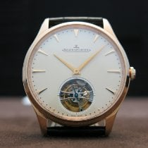 Jaeger-LeCoultre Master Ultra Thin Tourbillion Pозовое золото 40mm Цвета шампань Без цифр