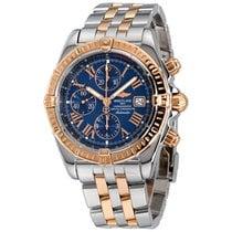 Breitling Chronomat Evolution Gold/Steel 44mm Blue Roman numerals United States of America, New York, Greenvale