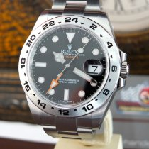 Rolex Explorer II 216570 Explorer II 42mm Orange Hand LC 100 Neu Stahl 42mm Automatik