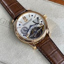 Greubel Forsey Double Tourbillon 30° Rose gold 43.5mm Silver Roman numerals United States of America, New York, New York