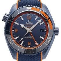 Omega Seamaster Planet Ocean Ceramic 45,5mm Blue Arabic numerals