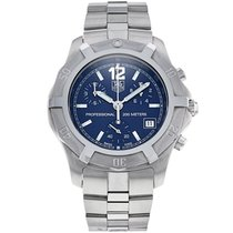 TAG Heuer 2000 Steel 40mm Blue No numerals
