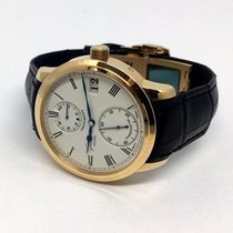 Glashütte Original Senator Chronometer Rotgold 42mm Silber Römisch Deutschland