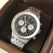 Breitling AB0121211B1A1 Staal 2021 Navitimer 1 B01 Chronograph 43 nieuw