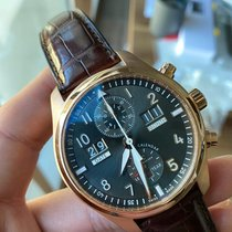 IWC Pilot Spitfire Perpetual Calendar Digital Date-Month Rose gold 46mm Grey