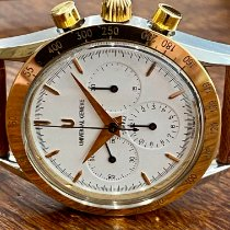 Universal Genève Compax Gold/Steel 36mm White