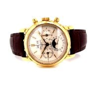 Patek Philippe Perpetual Calendar Chronograph Yellow gold 36mm White