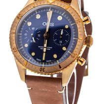 Oris Carl Brashear new Automatic Chronograph Watch with original box and original papers 01 771 7744 3185 LS