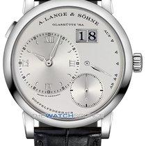 A. Lange & Söhne Lange 1 White gold 38.5mm Silver Roman numerals
