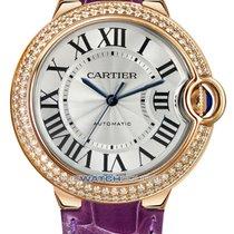 Cartier Pозовое золото 36mm Автоподзавод Ballon Bleu 36mm новые