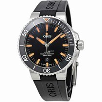 Oris 01 743 7733 4159-07 4 24 64EB Steel Aquis Small Second new