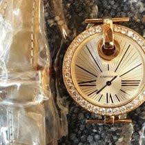 Cartier Captive de Cartier Gelbgold 35mm Silber Römisch