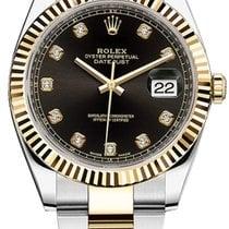 Rolex Datejust Rolex 126333  Datejust Black Diamond   Steel and Yellow Gold 2020 new
