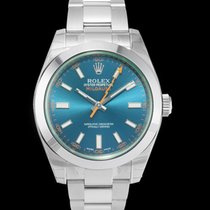 Rolex Milgauss Steel 40mm Blue United States of America, California, San Mateo