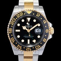 Rolex Steel Automatic Black 40mm new GMT-Master II