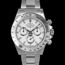 Rolex Steel Automatic White 40mm new Daytona