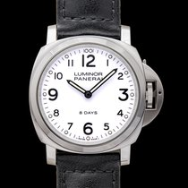 Panerai Luminor Base 8 Days Steel 44mm White United States of America, California, San Mateo