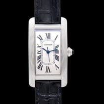Cartier Tank Américaine Steel 41.60mm Silver United States of America, California, San Mateo