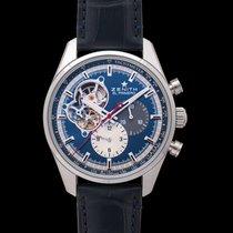 Zenith El Primero Chronomaster Acero 42mm Azul