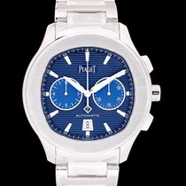 Piaget Polo S Steel 42.00mm Blue United States of America, California, San Mateo