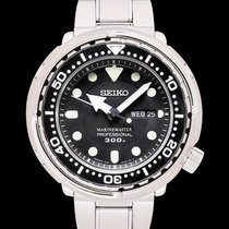 Seiko Marinemaster Steel 47.7mm Black United States of America, California, San Mateo