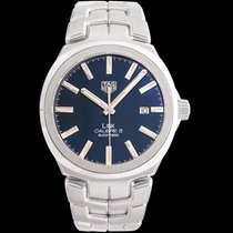 TAG Heuer Link Calibre 5 Steel 41mm Blue United States of America, California, San Mateo