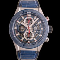 TAG Heuer Carrera Calibre HEUER 01 Steel 43mm Blue United States of America, California, San Mateo