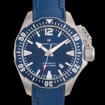 Hamilton Khaki Navy Frogman Steel 42mm Blue United States of America, California, San Mateo