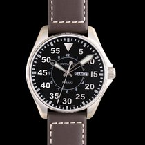 Hamilton Khaki Pilot new Quartz Watch with original box and original papers H64611535