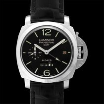Panerai Luminor 1950 8 Days GMT Steel 44mm Black United States of America, California, San Mateo